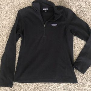 Patagonia quarter zip fleece sweater